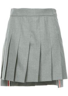 Thom Browne dropped back mini pleated skirt
