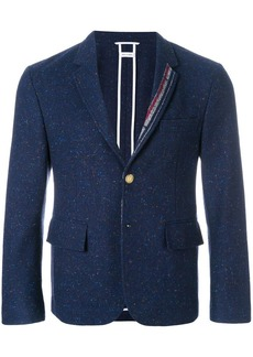 Thom Browne Engineered Lapel Striped Donegal Wool Classic Sport Coat