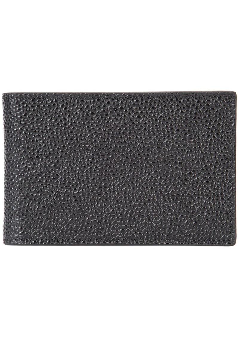 Thom Browne grained bi-fold wallet