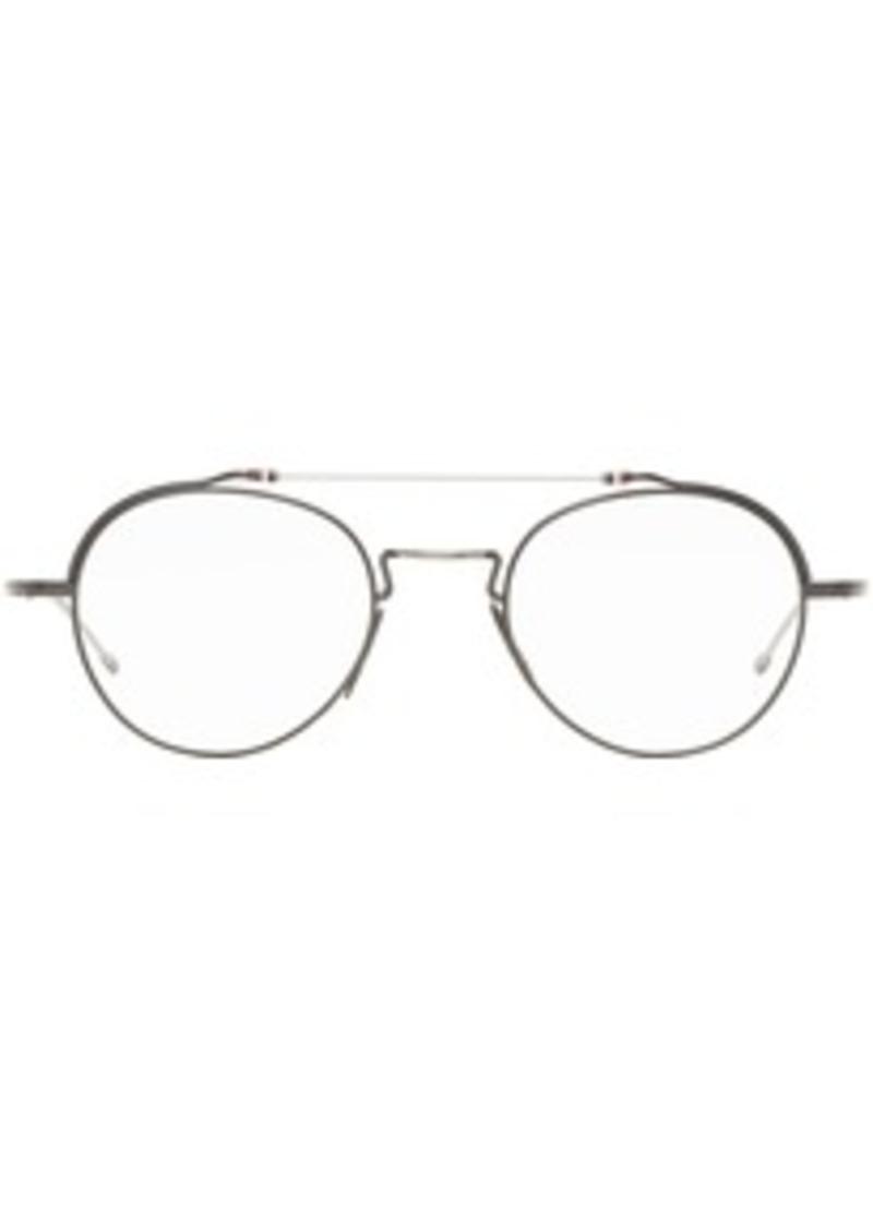 Thom Browne Gunmetal & Silver TBX912 Glasses