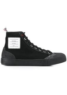 Thom Browne hi top vulcanized sneakers