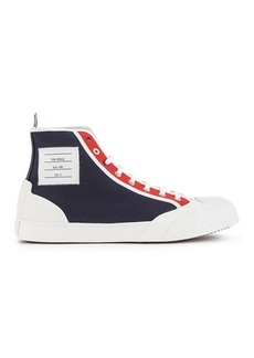 Thom Browne High-top canvas trainers