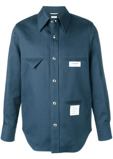 Thom Browne Inside-out Mackintosh Shirt Jacket