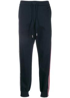 Thom Browne interlock RWB stripe track pants