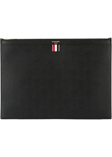 Thom Browne large zipper laptop holder