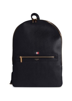 Thom Browne Leather Backpack