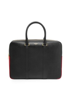 Thom Browne Leather Business Day Bag
