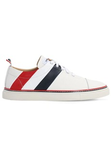 Thom Browne Leather Lace-up Sneakers