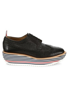 Thom Browne Longwing Rocket Leather Brogues