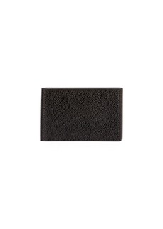 Thom Browne Men's City Leather Bi-Fold Wallet