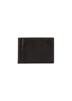 Thom Browne Men's Leather Wallet w/ Money Clip