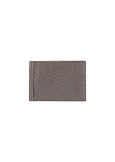 Thom Browne Men's Pebbled Leather Wallet w/ Money Clip