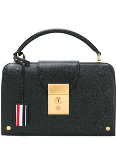 Thom Browne Mrs. Thom pebbled pocketbook bag