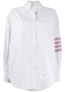 Thom Browne 4-Bar oversized Oxford shirt