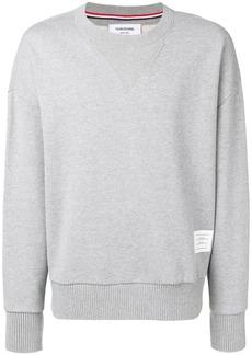 Thom Browne Oversized Loopback Sweatshirt