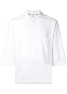 Thom Browne Oversized Piqué Pocket Polo