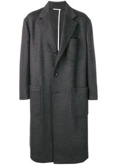 Thom Browne Oversized Pocket Sack Overcoat