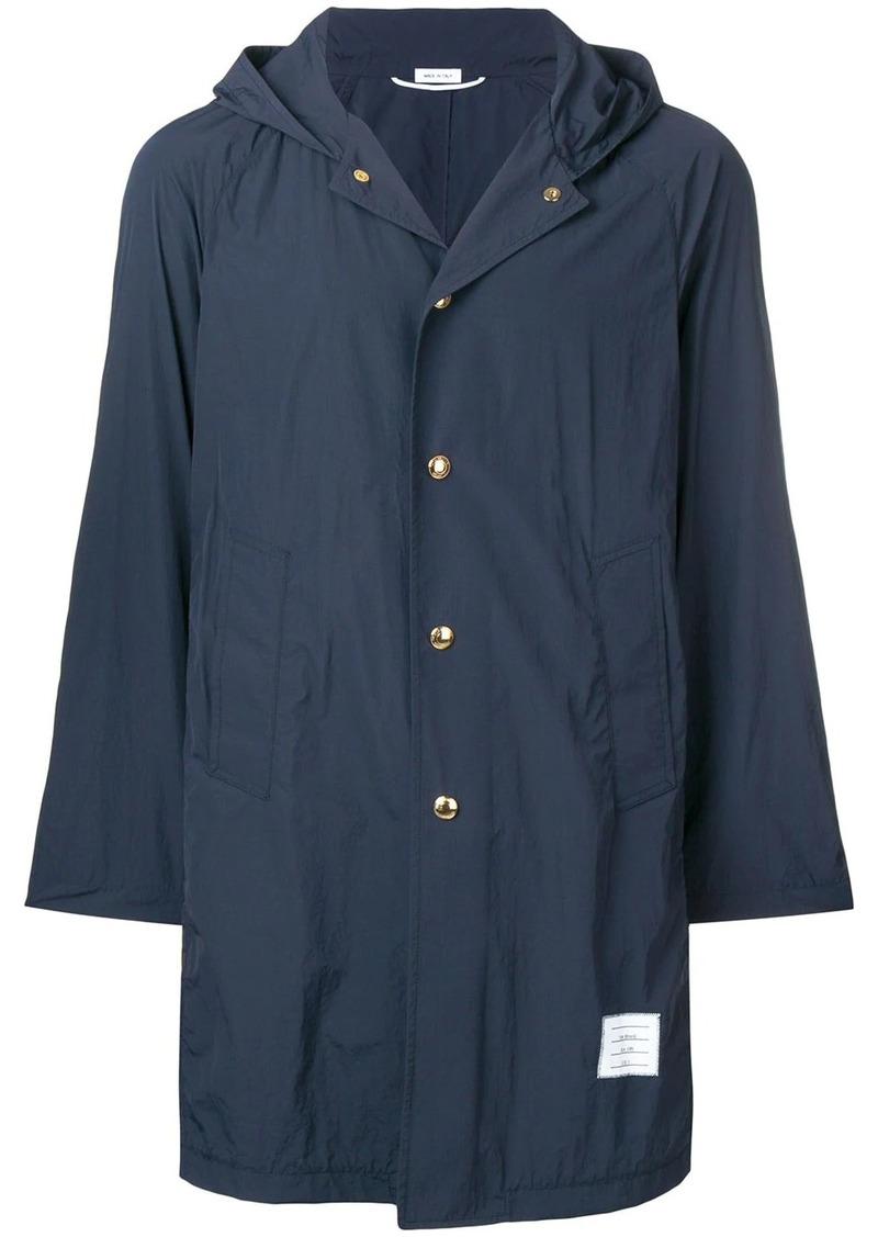 Thom Browne Packable Bal Collar Overcoat