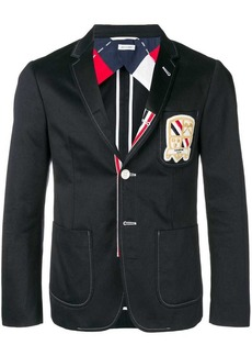 Thom Browne Patch Pocket Grosgrain Sport Coat