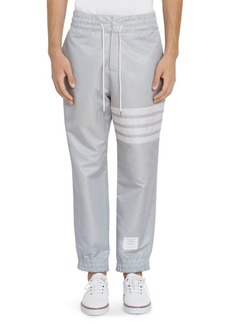 Thom Browne Relaxed-Fit Stripe Track Pants