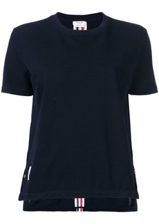 Thom Browne RWB stripe relaxed piqué T-shirt