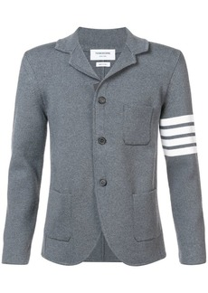 Thom Browne 4-Bar Ribbed Wool Sport Coat