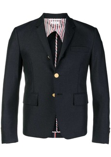 Thom Browne Rwb Selvedge High-Armhole Sport Coat
