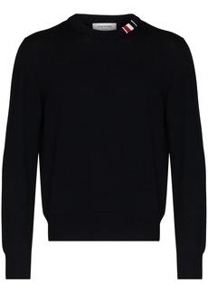 Thom Browne RWB-stripe wool jumper