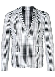 Thom Browne Shadow Prince Of Wales Sport Coat