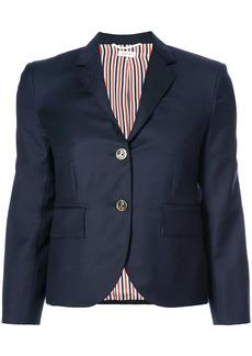 Thom Browne Single Breasted Sport Coat In Blue Wool Twill