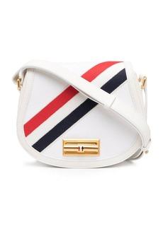Thom Browne small shoulder saddle bag