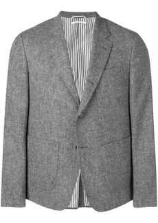 Thom Browne Solid Tweed Sack Sport Coat