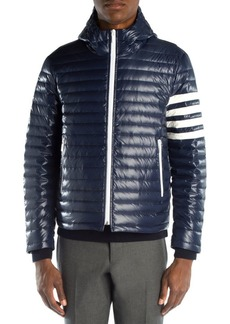 Thom Browne Striped Down Jacket