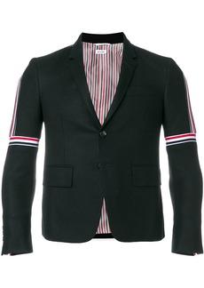 Thom Browne Striped Elastic Seam Wool Sport Coat