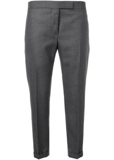 Thom Browne Striped Low-rise Wool Trouser
