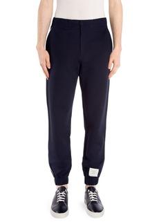 Thom Browne Tech Knit Piping Sweatpants