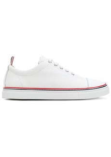 Thom Browne Tennis Collection straight toe cap trainer