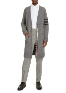 Thom Browne 4 Bar Plaid Wool Tapered Pants