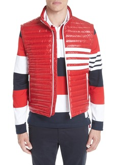 Thom Browne 4 Bar Quilted Down Vest