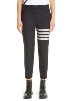 Thom Browne 4-Bar Wool Crop Skinny Pants