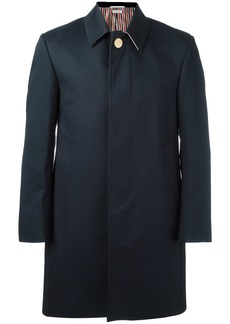 Thom Browne Bal Collar Mackintosh Overcoat