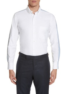 Thom Browne Bicolor Oxford Sport Shirt