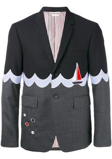 Thom Browne boat motif blazer
