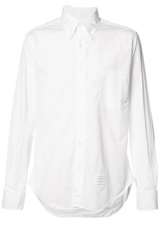 Thom Browne Classic Button-Down Poplin Shirt