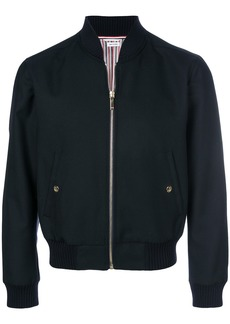 Thom Browne Center-Back Stripe Blouson Jacket