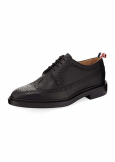 Thom Browne Classic Long Wing Brogue Shoe