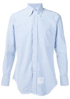 Thom Browne Grosgrain Placket Oxford Shirt