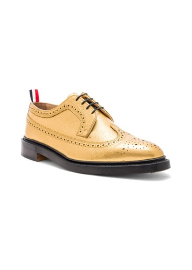 2d16515ce1fea0 Thom Browne Thom Browne Classic Pebble Grain Longwing Brogue | Shoes