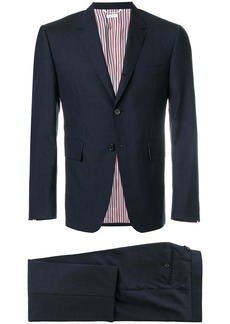 Thom Browne Classic Suit In Super 120's Plain Weave - Blue