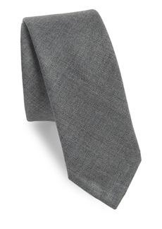 Thom Browne Classic Textured Wool Tie